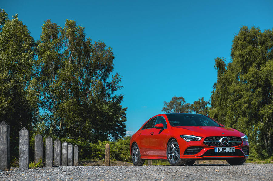 Mercedes-Benz CLA 2019 road test review - static