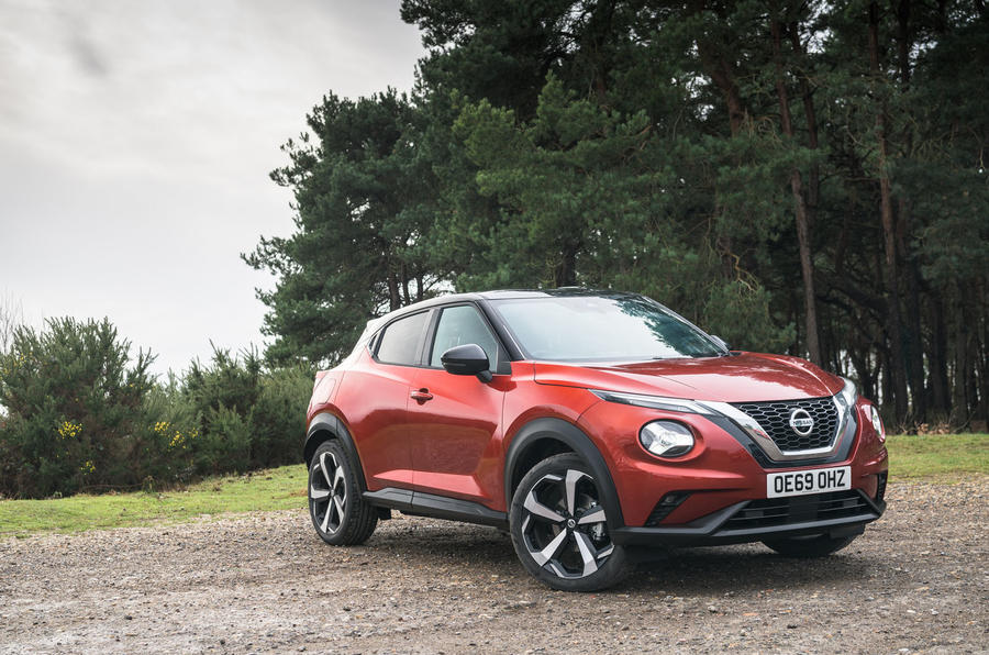 Nissan Juke 2020 road test review - static
