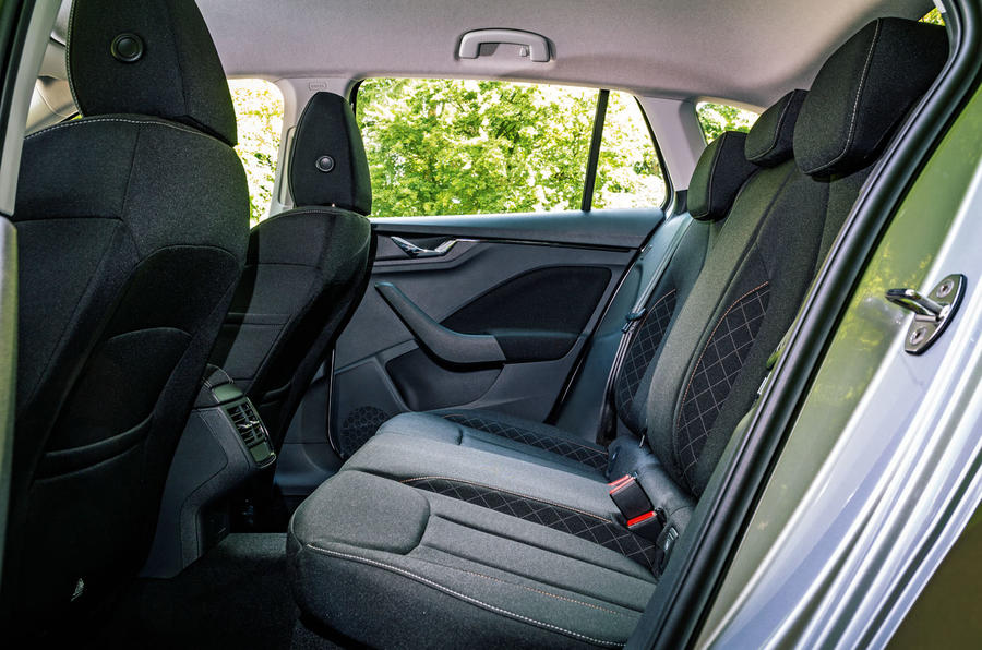 Skoda Scala 2019 road test review - rear seats