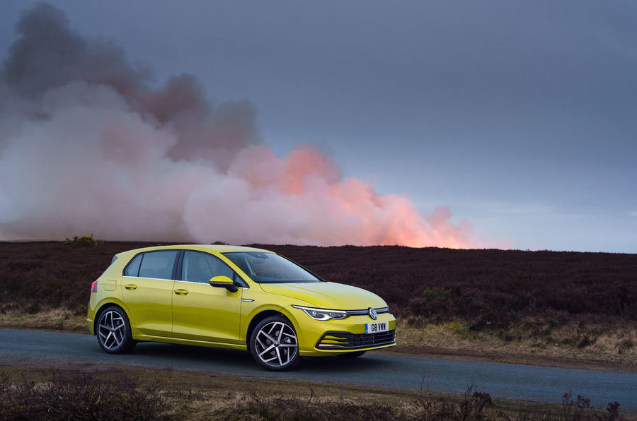 Volkswagen Golf 2020 road test review - static