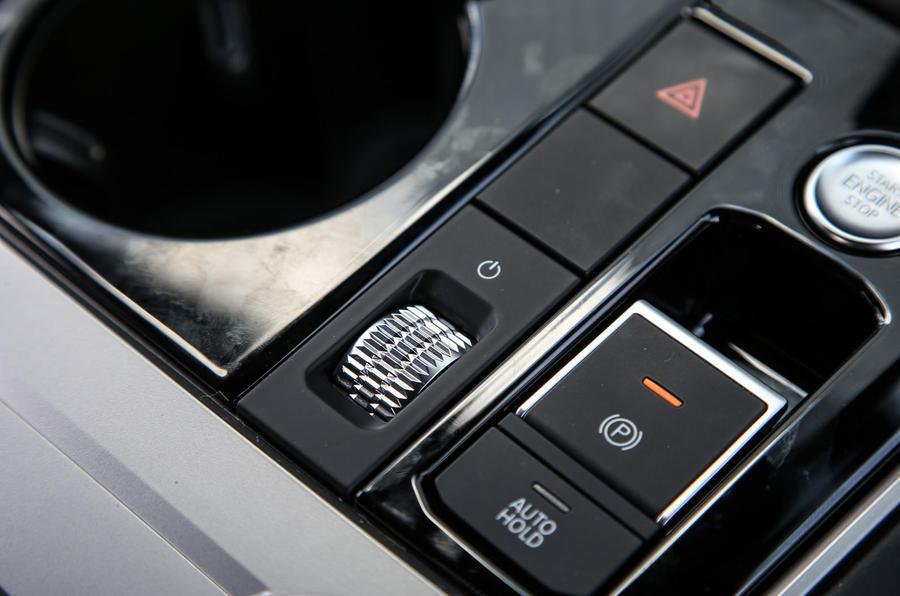 Volkswagen Touareg 2018 road test review electric parking brake
