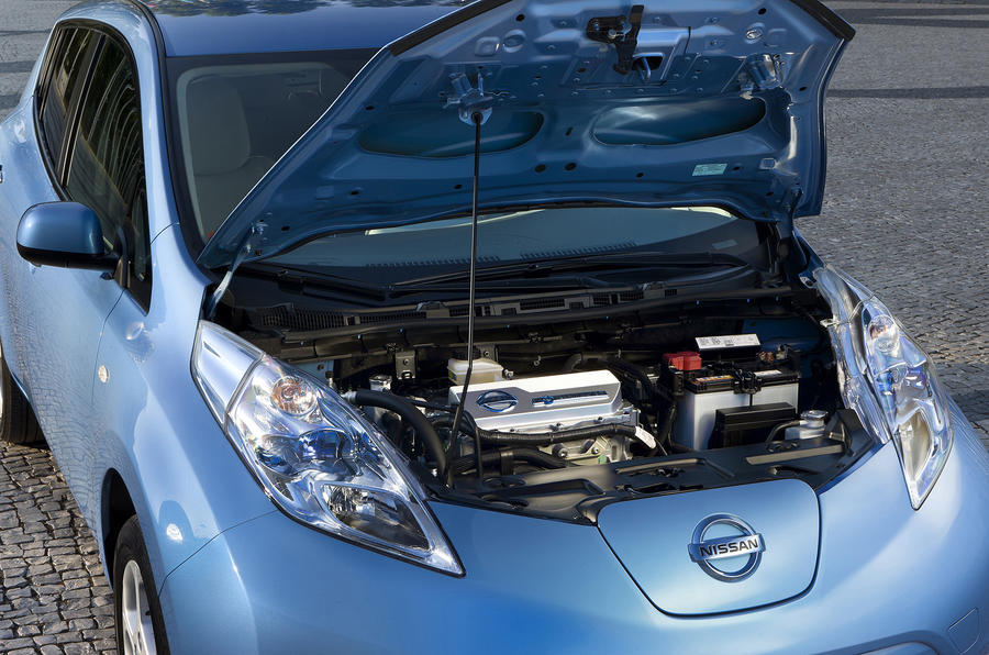 Nissan Leaf electric motor