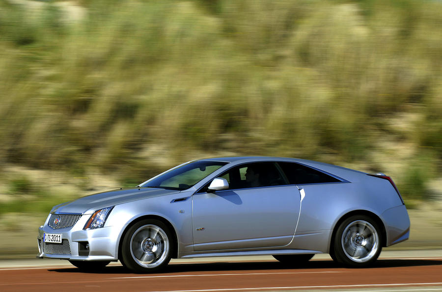 Cadillac CTS-V Coupe side profile