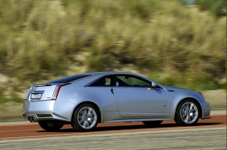 Cadillac CTS-V Coupe rear quarter