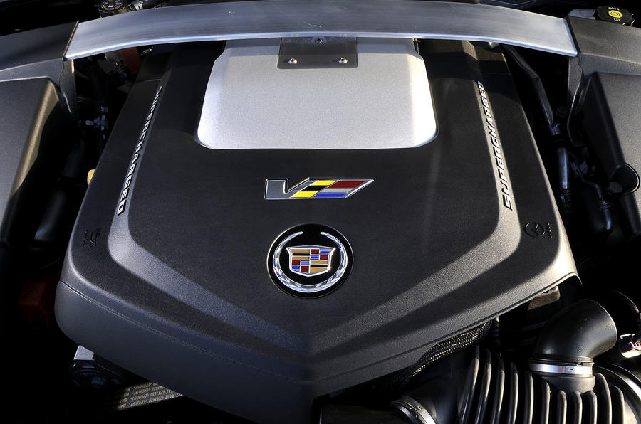 6.2-litre V8 Cadillac CTS-V Coupe engine