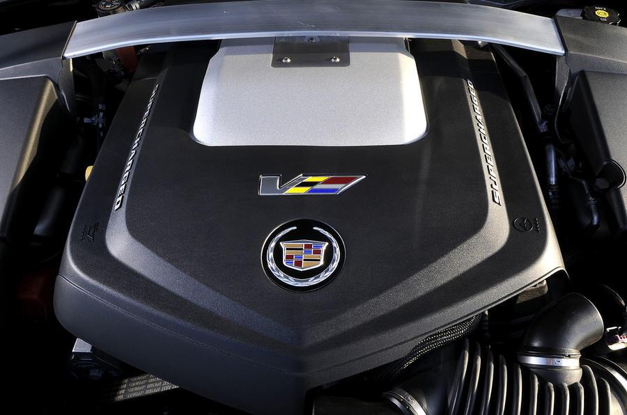6.2-litre V8 Cadillac CTS-V Coupe engine