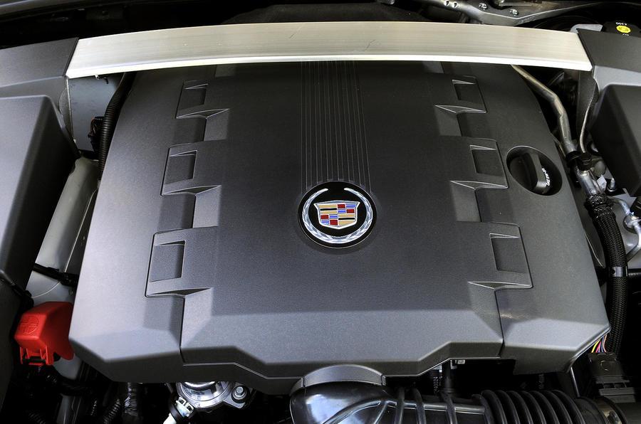 3.6-litre V6 Cadillac CTS engine