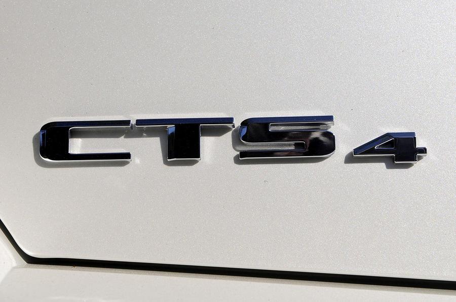 Cadillac CTS Sports Wagon badging