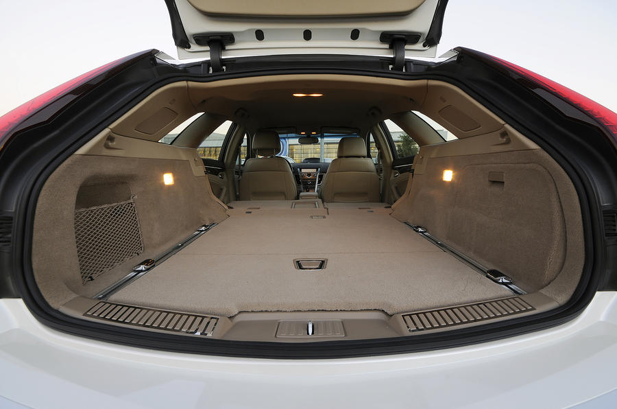 Cadillac CTS boot space