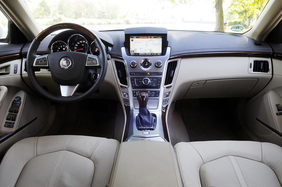 Cadillac CTS dashboard