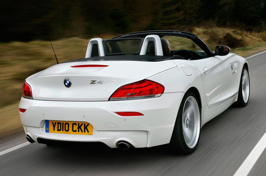 BMW Z4 sDrive28i rear