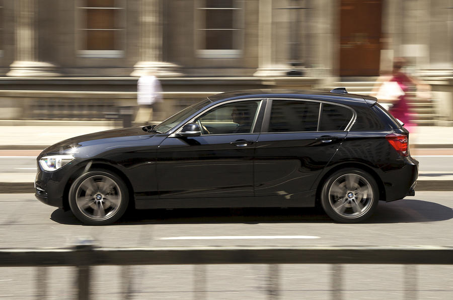 BMW 118d side profile
