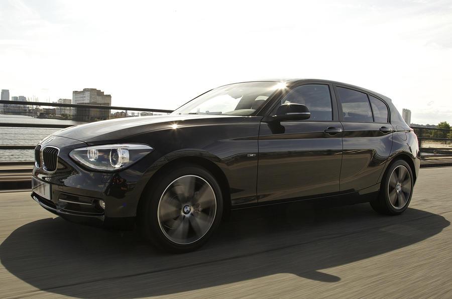 BMW 118d front quarter