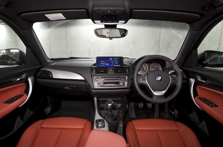 BMW 118d dashboard