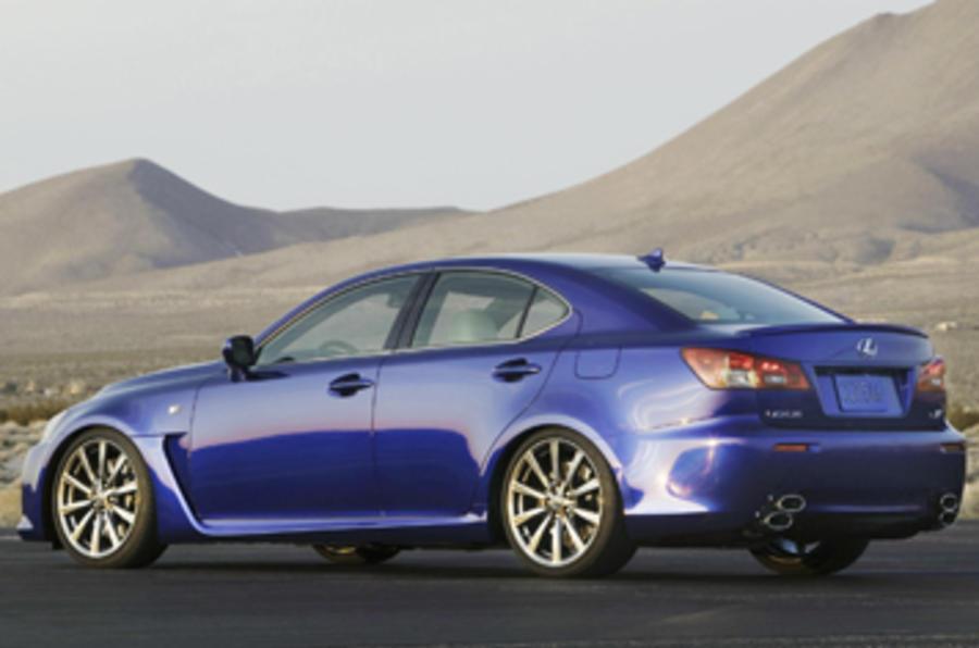 Lexus Is F Saloon 5 0 V8 First Drive