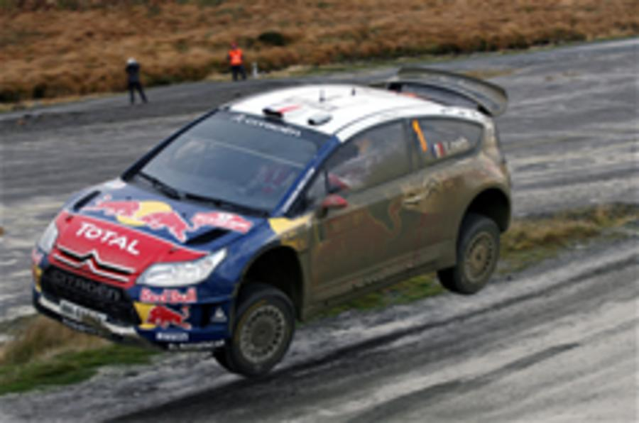 Loeb wins sixth WRC title