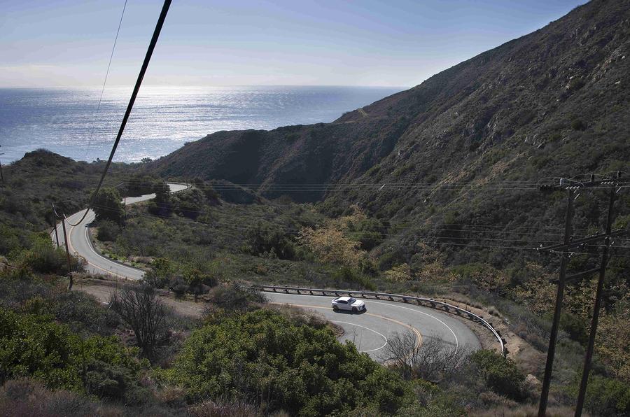 Audi Quattro Concept on US roads