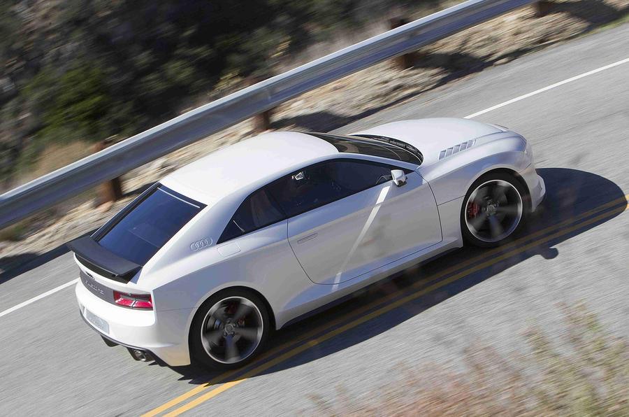Audi Quattro Concept top profile