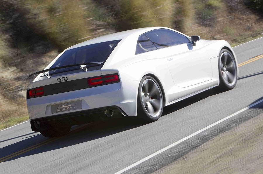 Audi Quattro Concept rear quarter