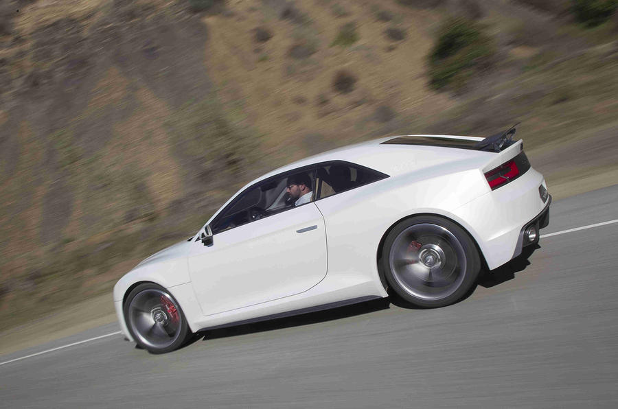 Audi Quattro Concept rear cornering