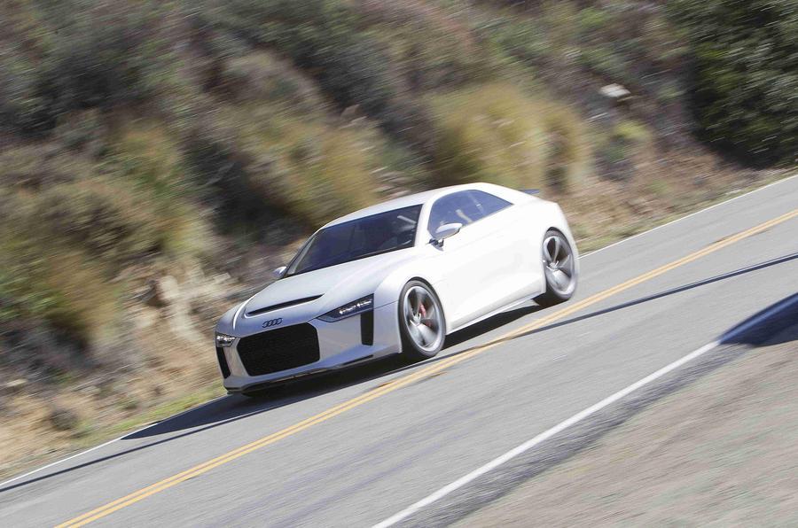 Audi Quattro Concept front quarter