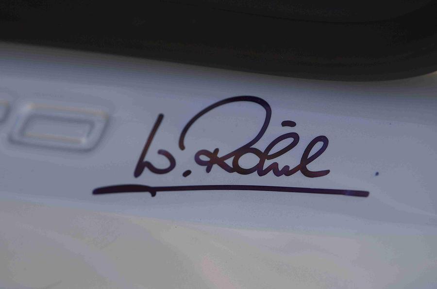Audi Quattro Concept signature decal