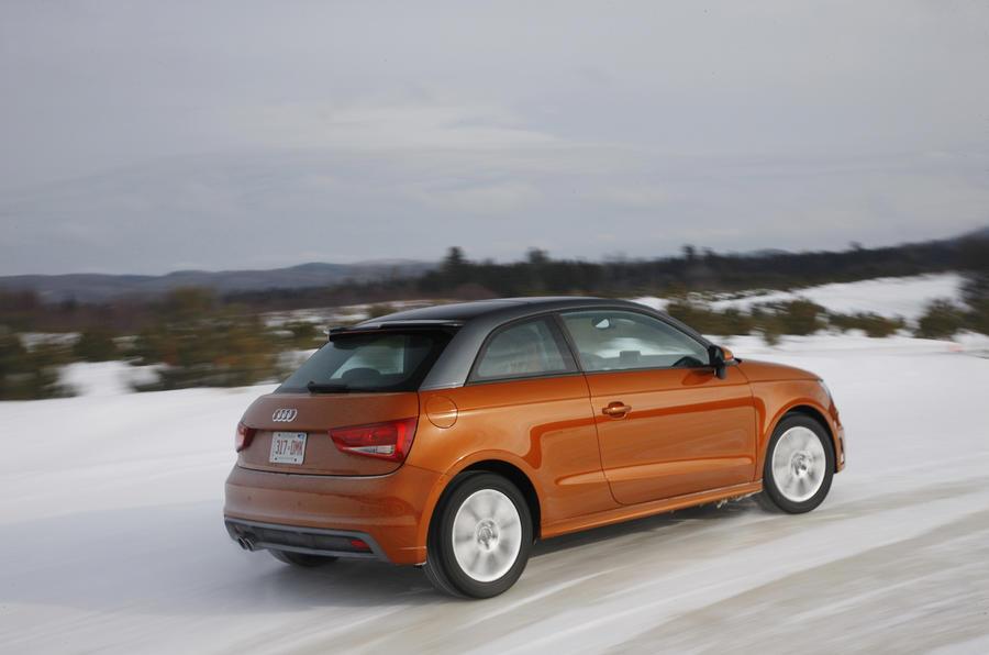Audi A1 1.4T quattro rear quarter