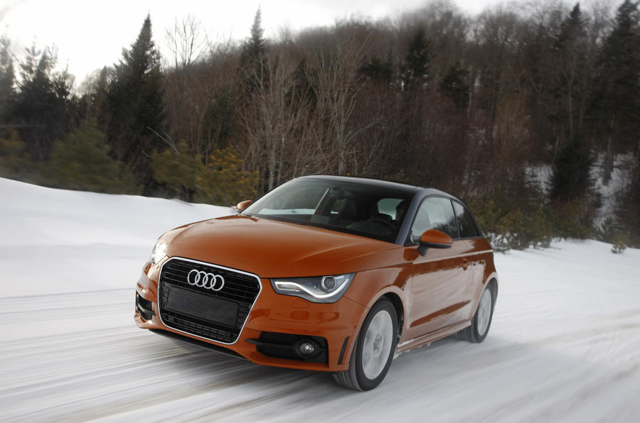 Audi A1 1.4T quattro front quarter