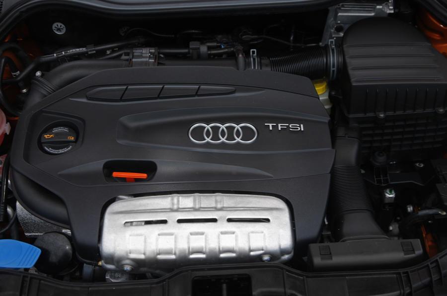 1.4-litre TFSI Audi A1 engine
