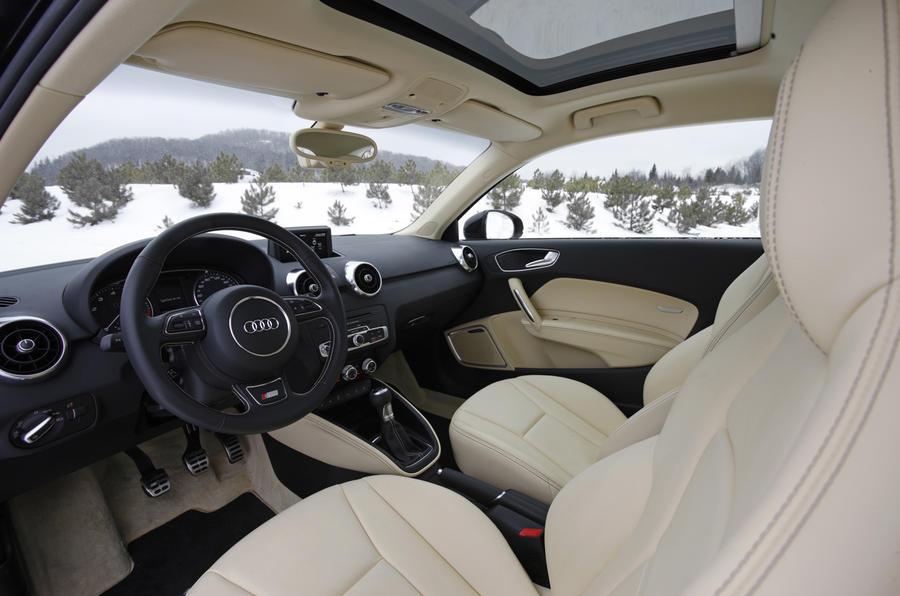 Audi A1 1.4T quattro interior