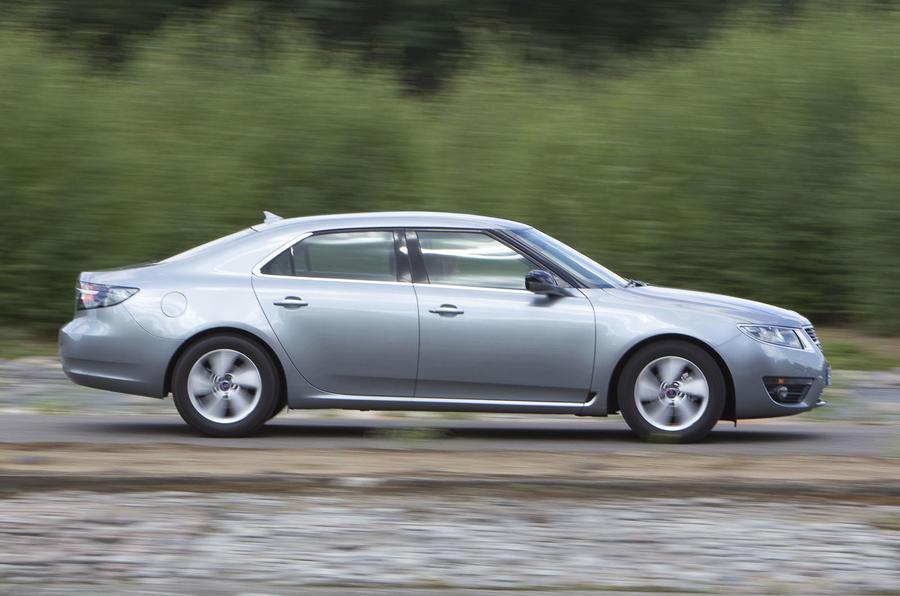 Saab 9-5 1.6T side profile