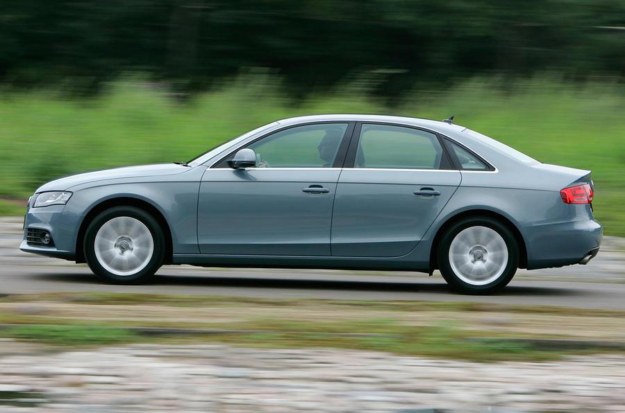 Audi A4 side profile