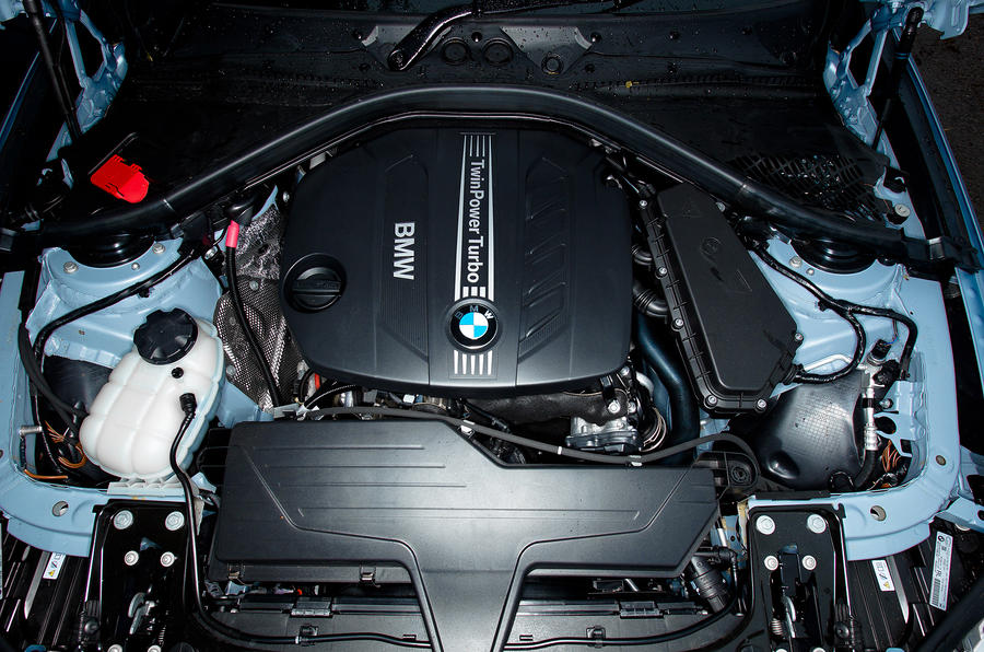 2.0-litre BMW 320d engine