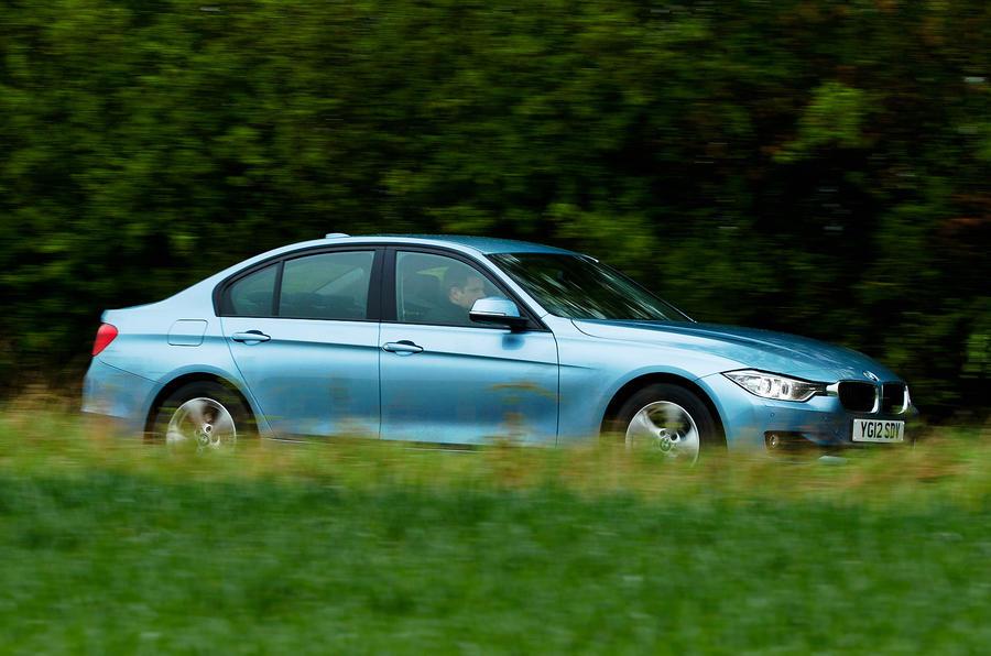 143mph BMW 320d ED