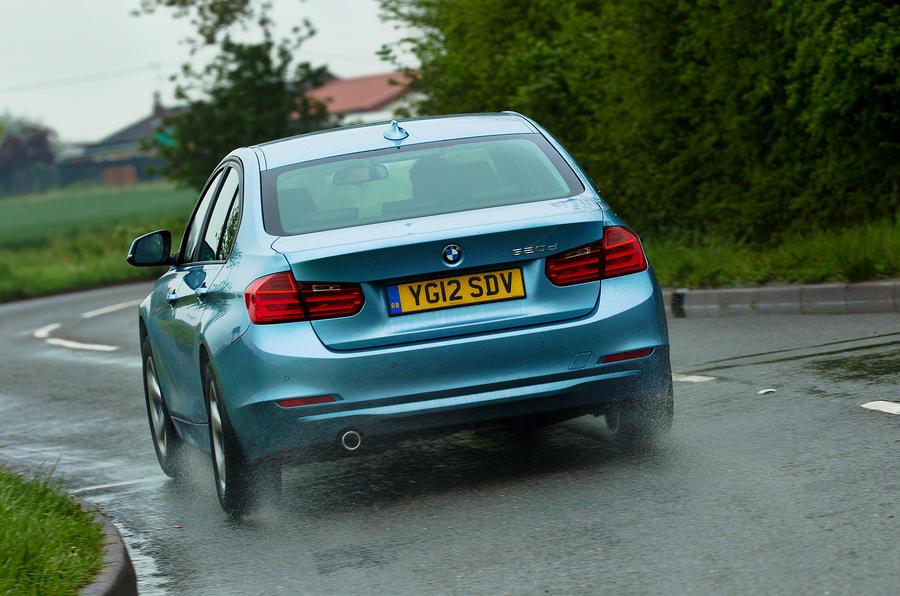 BMW 320d ED rear