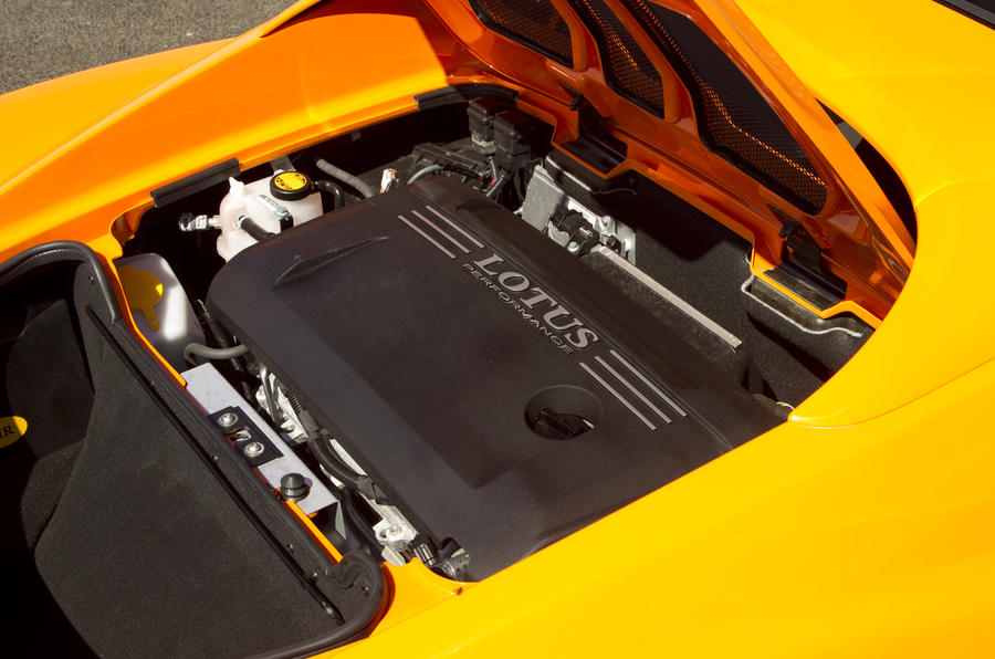 1.8-litre Lotus Elise S engine