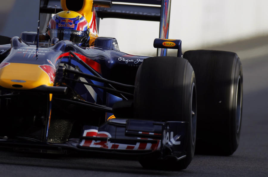 Webber on top in last F1 test