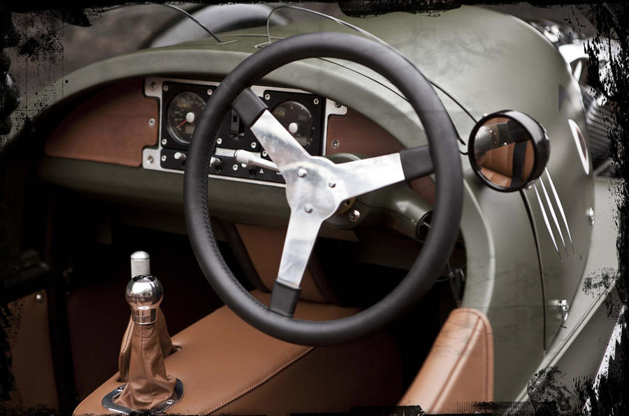 Morgan 3 Wheeler dashboard