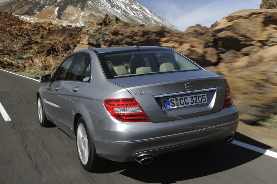 Mercedes-Benz C 250 CDI rear