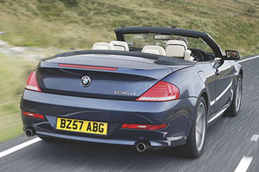 bmw 635d edition sport first uk drive. Black Bedroom Furniture Sets. Home Design Ideas