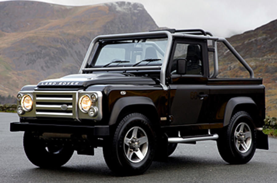 land rover defender svx review autocar. Black Bedroom Furniture Sets. Home Design Ideas