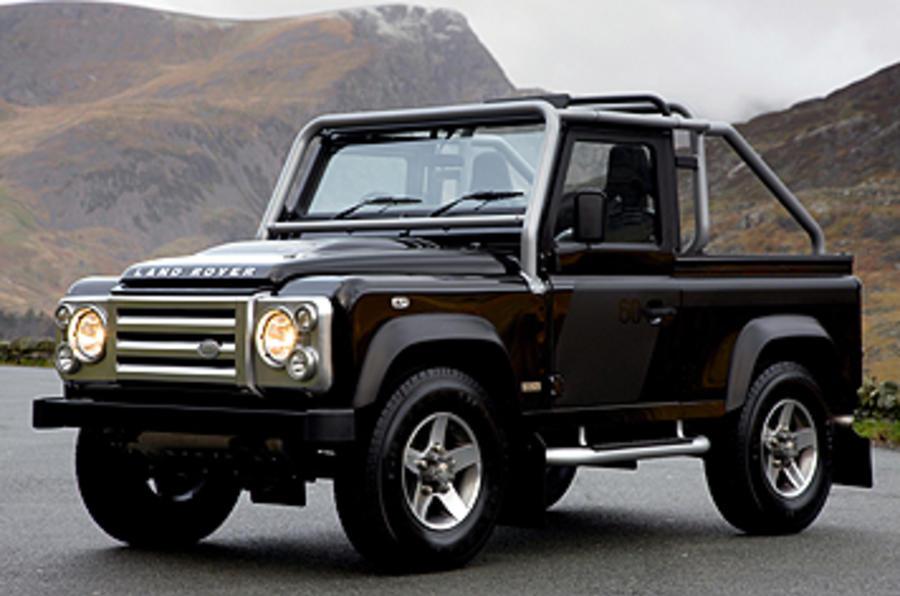 land rover defender svx review autocar. Black Bedroom Furniture Sets. Home Design Ideas