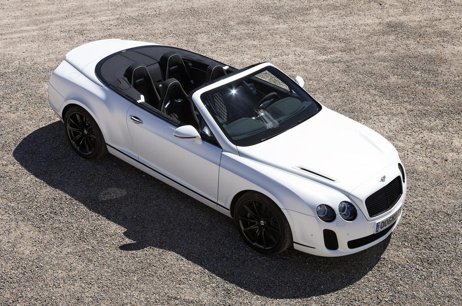 Bentley Continental GTC Supersports profile