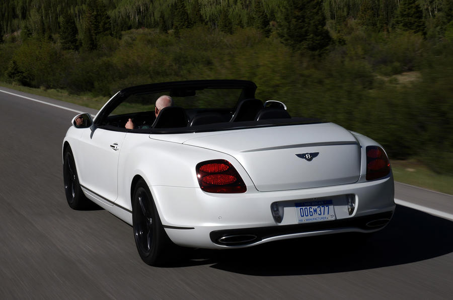 Bentley Continental GTC Supersports rear