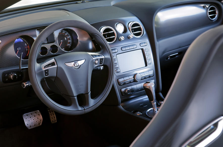 Bentley Continental GTC Supersports dashboard