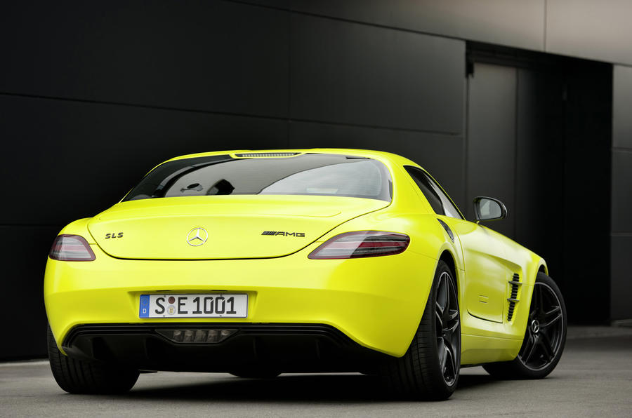 Mercedes-AMG SLS E-Cell rear
