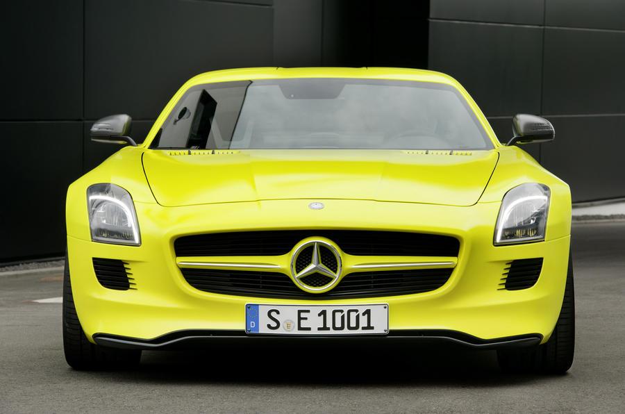 526bhp Mercedes-AMG SLS E-Cell