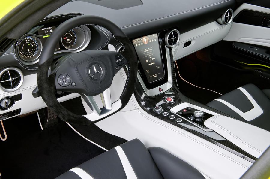Mercedes-AMG SLS E-Cell interior
