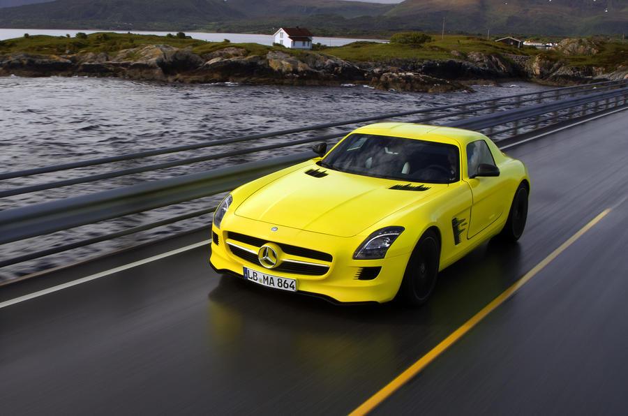 Mercedes-AMG SLS E-Cell