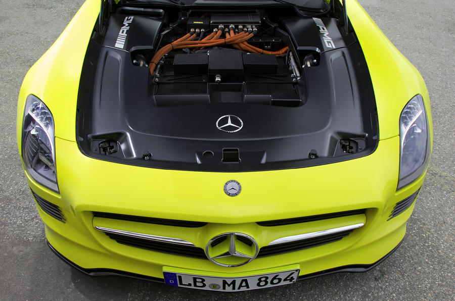 Mercedes-AMG SLS E-Cell electric motor